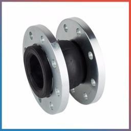 Компенсатор (гибкая вставка) фланцевый, корпус EPDM, фланцы - никел. сталь, Ру-10, Ду-125