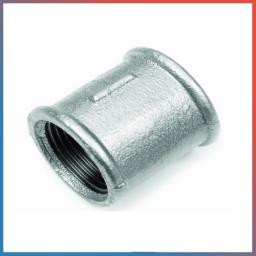 Муфта стальная оцинкованная Ду 50 (2