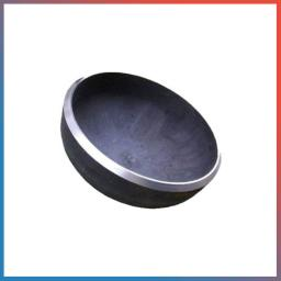 Заглушка 3/4 дюйма ВР никелированная (латунь, резьба)