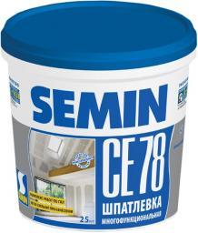 SEMIN CE 78 (universal, blue cover) / 25кг шпатлевка полимерная