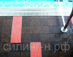 Пробковая плитка для ванны и бассейна Corksribas (13*150*150 мм)
