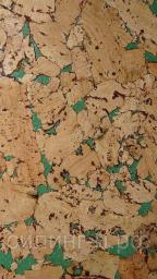 Пробковое покрытие для стен Corksribas Condor Green