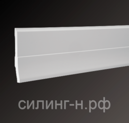 Плинтус напольный (160*24*2000) Европласт 6.53.105