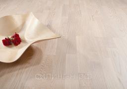 Паркетная доска Polarwood (14*188*2266) Ash Living white matt 3s