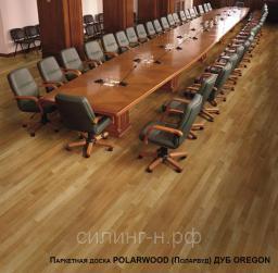 Паркетная доска Polarwood (14*188*2266 мм) Oak Oregon 3s