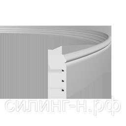 Гибкий полиуретановый плинтус (138*19*2000) Европласт 1.53.110