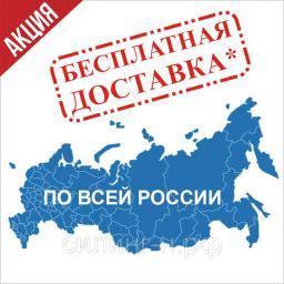 Бесплатная доставка по России некоторых товаров со скидкой