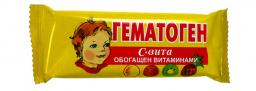 «Гематоген С-Вита» и «Гематоген с кедровым орехом»