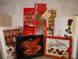 Наборы шоколадных конфет (пр-ва г.Польша)