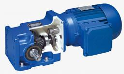 Мотор-редуктор NORDBLOC с цилиндро-конической зубчатой передачей