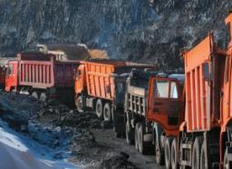 Добыча угля в Кузбассе