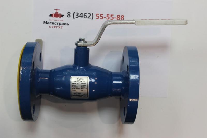 Кран шаровой LD КШЦП Ду125/100 Ру25.