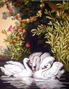 Канва/ткань с рисунком Collection D Art серия 11.000 50х60 см
