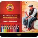 Koh-I-Noor Набор акварельных карандашей 48 цв. цветные в жести 3726048001PL