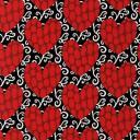 Ткани для пэчворка PEPPY HEART GARDEN ФАСОВКА 50х55 см 122±5 г/кв.м 100% хлопок