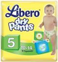 Трусики Libero Dry Pants 5 (10-14 кг) 18 шт.