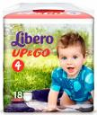 Трусики Libero Up & Go 4 (7-11 кг) 18 шт.