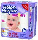 Подгузники Helen Harper Soft&Dry 3-6 кг. 16 шт. (mini)
