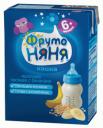 Кашка молочная ФрутоНяня овсяная с бананами жидкая с 6 мес. 200 мл