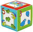 Игрушка-кубик с пищалкой Курносики