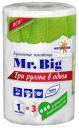Полотенца бумажные Мягкий знак Mr. Big двухслойные 3в1