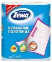Кухонные полотенца Zewa Декор с рисунком 2 шт.