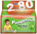 Детские влажные салфетки Pamperino DUO с алоэ вера 2х80 шт.