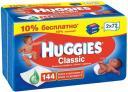 Детские влажные салфетки Huggies Classic Duo 144 шт.