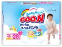 Трусики Goo.N для девочек 13-25 кг (28 шт.)