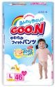 Трусики Goo.N для девочек 9-14 кг (46 шт.)