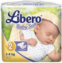 Подгузники Libero Baby Soft EcoTech 2 (3-6 кг) 26 шт.