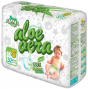 Подгузники AMMA Aloe Vera S (3-7 кг) 32 шт.