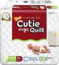 Подгузники Cutie Quilt подгузники (0-5 кг) 72 шт.