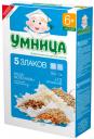 Каша молочная Умница 5 злаков с 6 мес. 200 г