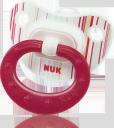 Пустышка силиконовая NUK Classic Fashion для сна с 6 мес.
