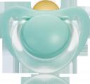 Пустышка латексная NUK Starlight ортодонтическая с рождения
