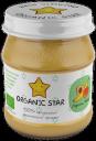 Пюре Organic Star Персик и банан с 6 мес 100 г