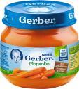 Пюре Gerber Морковь с 4 мес. 80 г