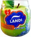 Пюре LANDI Organic Яблоко, черника с 6 мес. 113 г