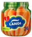 Пюре LANDI Organic Морковь с 4 мес. 113 г