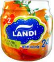 Пюре LANDI Organic Сладкий картофель с 5 мес. 113 г