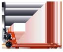 Ручная тележка ВТ LHM230SI с низким уровнем шума
