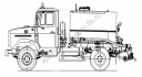 Оборудование Автогудронатора на ЗиЛ-433362