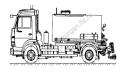 Автогудронатор на шасси МАЗ, КамАЗ (V=5 м3)