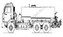 Автогудронатор КамАЗ, МАЗ (V=8 м3)