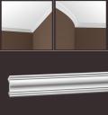 Полиуретановый карниз (45*37*2000) Европласт 1.50.299