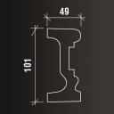 ПОЛУЧИТЬ СКИДКУ! 101*49*2000 мм Наличник Европласт 4.84.004