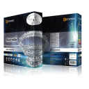 Люстра светодиодная Estares Akrilika 80WR (8500lm) 2K-4K-6K круг d600x1200мм IP44 с пультом ДУ