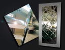 Зеркала, Зеркала в багете, Зеркальная плитка, Стекло, Фацет (Еврокромка на зеркале и стекле), Пескоструйная обработка зеркал и стекол.