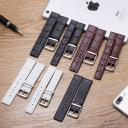 High Quality 16mm 18mm 20mm 22mm Genuine Leather Watch Band Thin Soft Brown/ Watch Strap Case For CK Calvin Klein